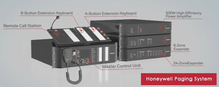 Honeywell paging system